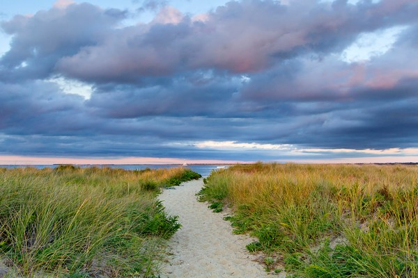 """Jetties Beach Path"" - Fine art Nantucket dunes photograph"