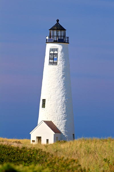 """Great Point Light"" Nantucket lighthouse beach art"