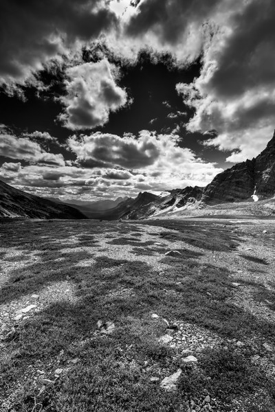 The view North from Crowfoot Pass | Canadian Rockies | banff national Park | Rocky Mountains|