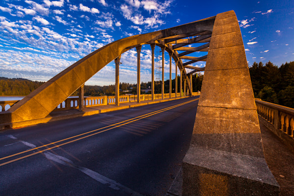 Siuslaw River Bridge, Florence Oregon