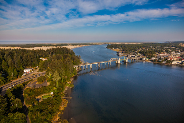 Florence, Oregon, bridge, siuslaw, river