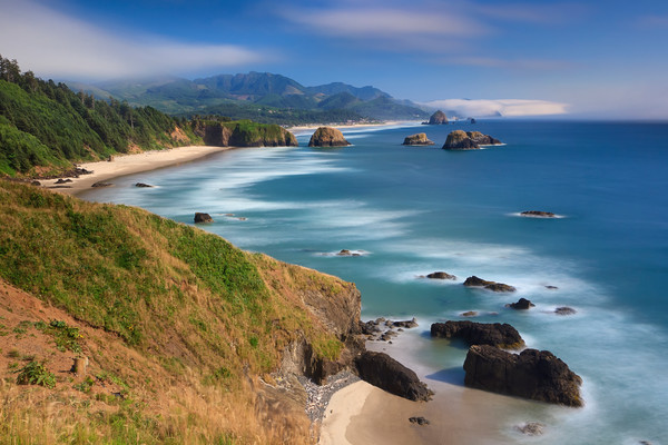"""Ecola Afternoon"" Cannon Beach Oregon fine art seascape photograph"