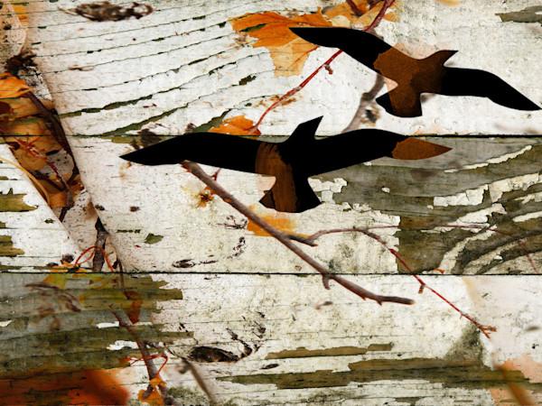 ORL-1118 Birds on birch I