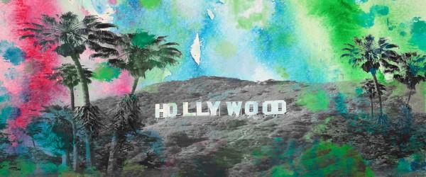 24x48 Hollywood. California 2