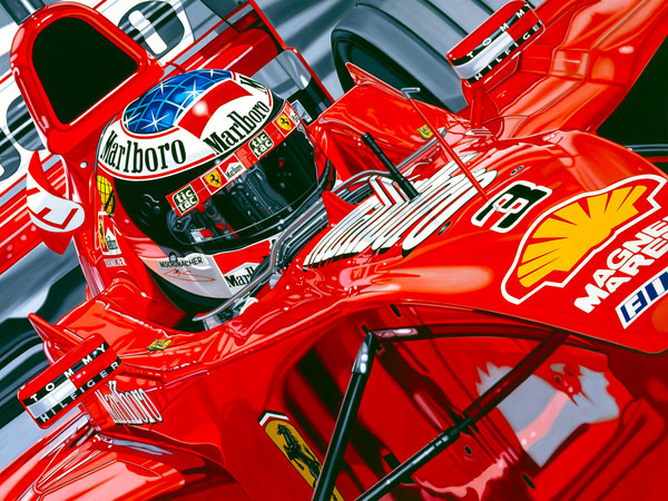 Michael Schumacher, Seeing Red