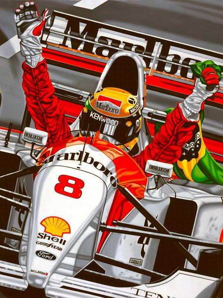 Ayrton Senna, Last Victory