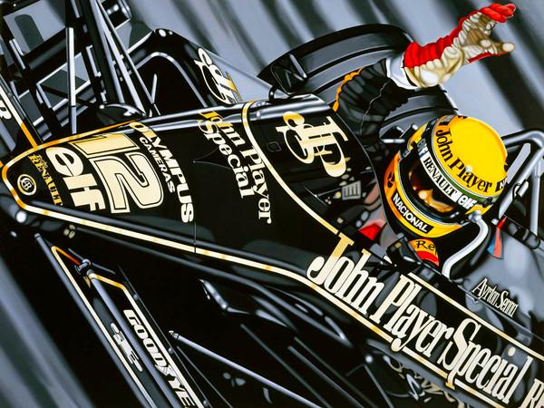 Ayrton Senna, First Victory