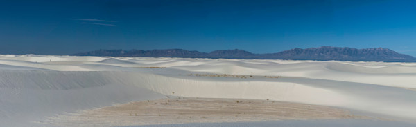 White Sands National Monument Panorama photograph for sale as art.