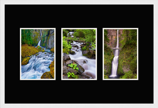 Oregon Waterfall I for Sale as Fine Art Photograph Print set