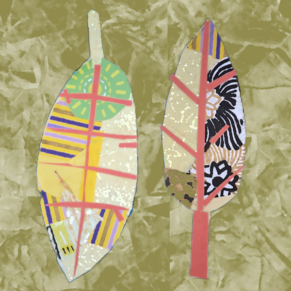 Harmony Leaves on Green Earth   Noah's Children Collection