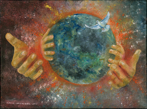 """""""His Hands"""" by Denise Dahlheimer   Prophetics gallery"""