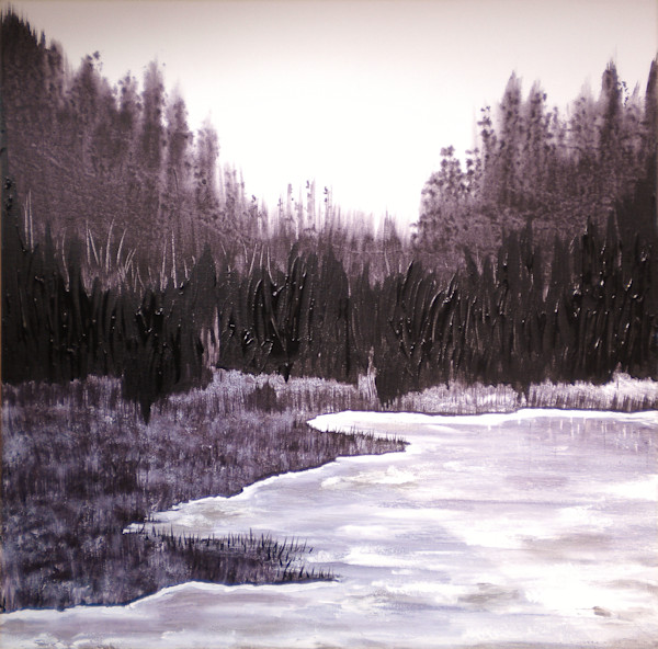 Winter Woods by Briar Emond | SavvyArt Market original painting