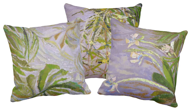 Greenery Fabric Ensemble for Pillows or Tabletop | Dorothy Fagan Collection