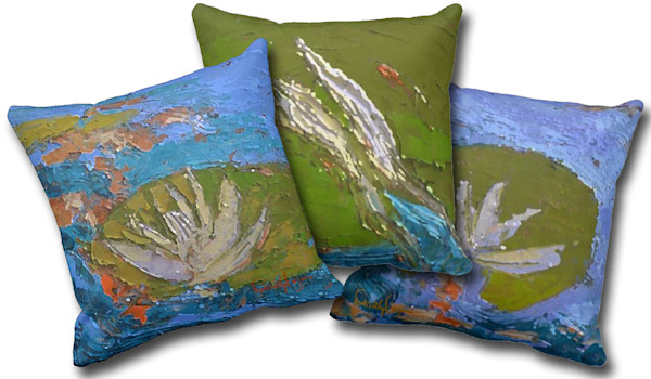 Koi Pillow Fabric Ensemble | Dorothy Fagan Collection