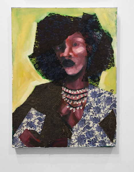 Trust Is Earned Paintings by Angela Davis Johnson.