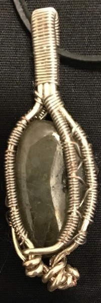 Labradorite pendant sold at Intuitive Creations handmade by Christina Culverhouse
