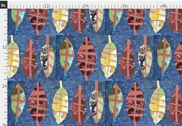 Bliss Navy Fabric Yardage | Dorothy Fagan Collection