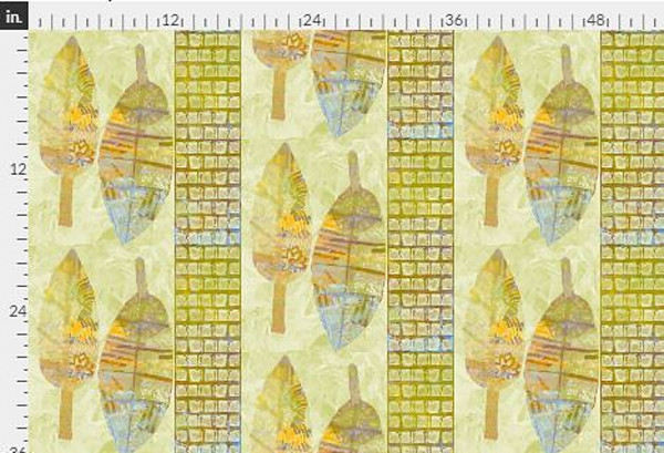 Harmony Gold Fabric Yardage | Dorothy Fagan Collection