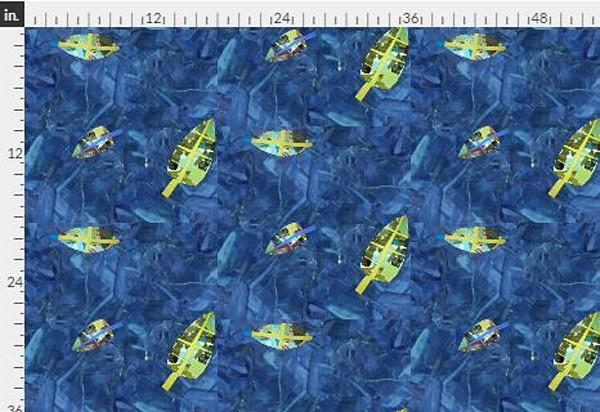 Gratitude DOT Navy Lime Fabric Yardage |Dorothy Fagan Collection