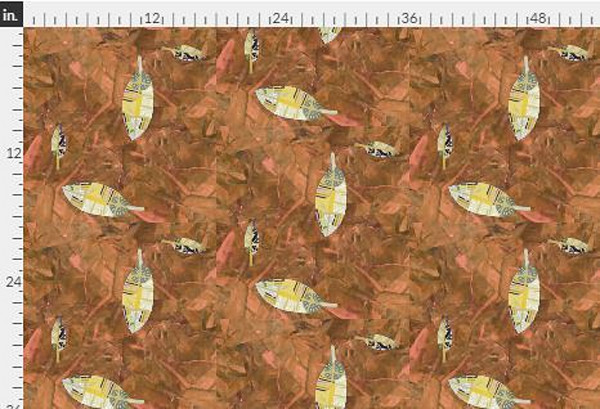 Harmony Dot Red Earth Fabric Yardage | Dorothy Fagan Collection