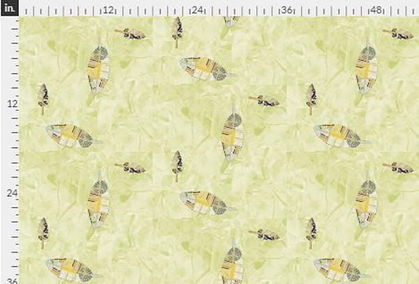 Harmony DOT Yellow Gold Fabric Yardage | Dorothy Fagan Collection