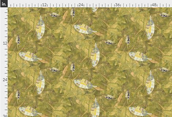 Harmony Dot Gold Fabric Yardage | Dorothy Fagan Collection