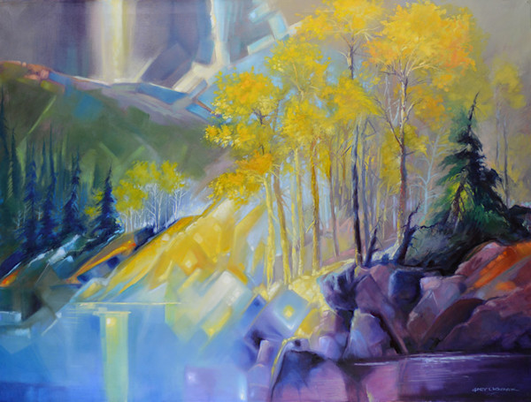 Gary Karasek creates landscapes and scenes filled with vibrant light and energy.