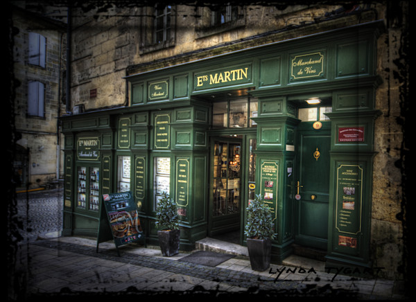 Lynda Tygart Cafe Restaurant Pub France Europe Ets Martin – Fine Art Photographs Prints on Canvas, Paper, Metal & More.