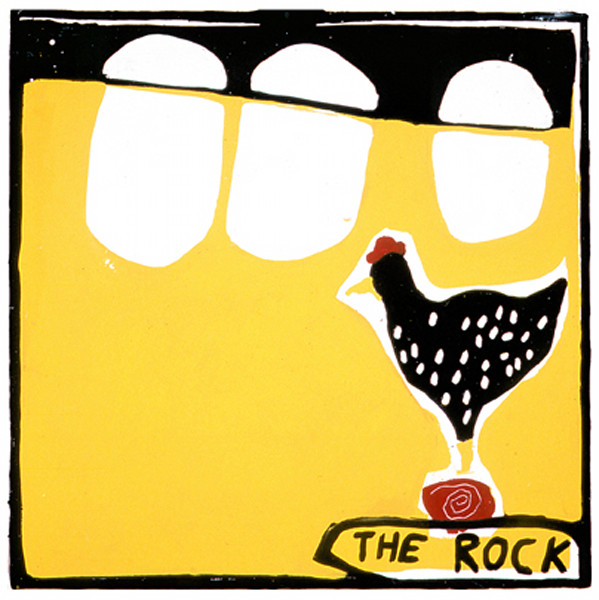 "Bard Rock, 48"" x 48"""