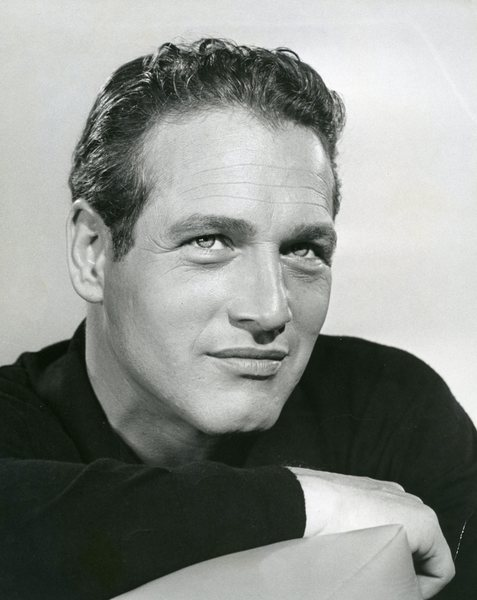 Original Vintage Press Print Paul Newman smiling confidently actor
