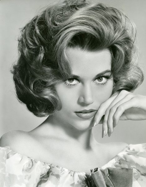 Original Vintage Press Print jane fonda posing