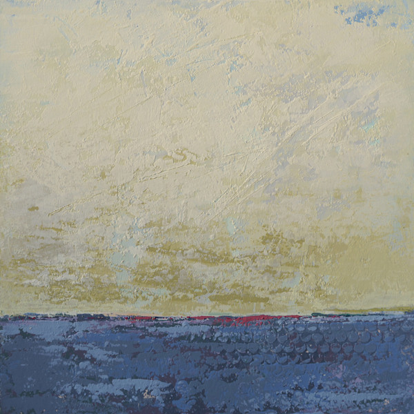 Dijon Skies - Coastal Wall Art - Painting of Landscapes