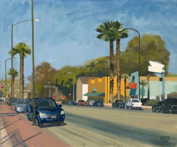 san pablo, landscape, painting, latino, street