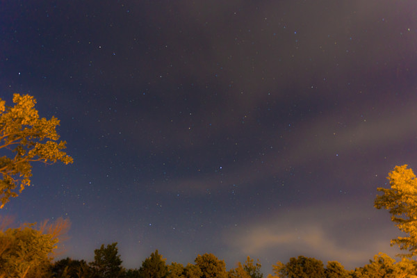 Second in a series of nightscapes of the rural Indiana sky.