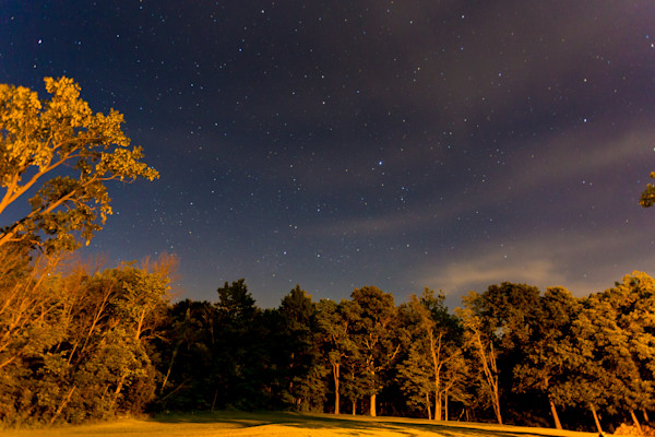 Third in a series of nightscapes of the sky and tree in rural Indiana