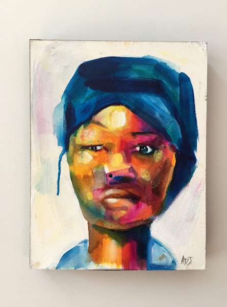 Purchase Ritka, by Angela Davis Johnson, at Matt McLeod Fine Art Gallery.