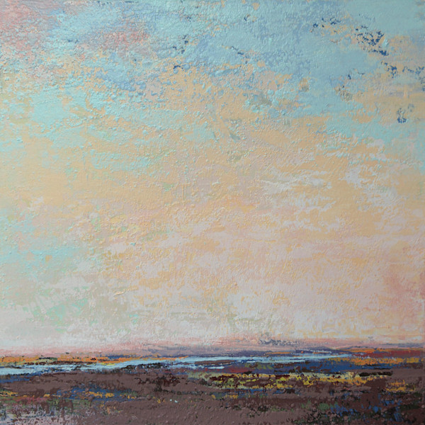 Flaming June - Painting of Landscapes - Coastal Wall Art