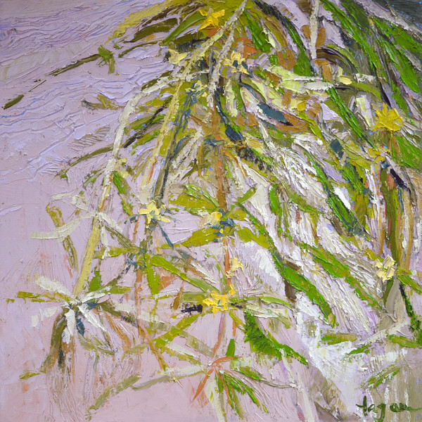Sparkle | Lacy Fern Oil Painting | Dorothy  Fagan Collection