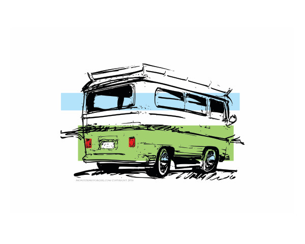 VW bus color