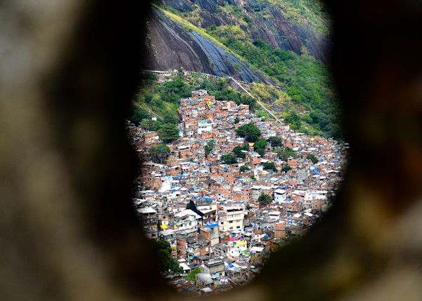 Peering Upon Rocinha  | Travel Photographs For Sale