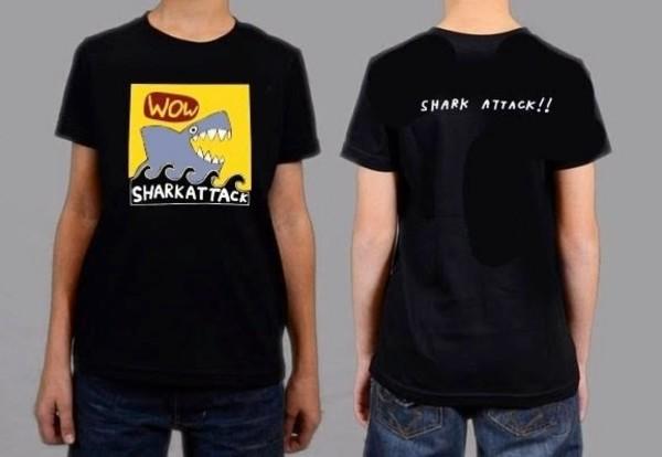 Kid's Shark Attack T-shirt