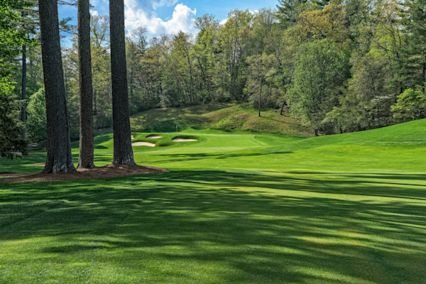 Wade Hampton Golf Club, Cashiers, NC, 5th Hole