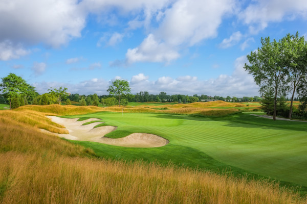Liberty National Golf Club's 15th Hole