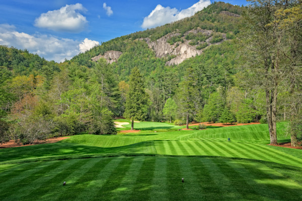 Wade Hampton Golf Club, Cashiers, NC, 17th Hole