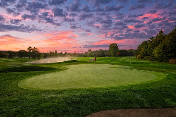 Crooked Stick's 3rd Hole at Dawn