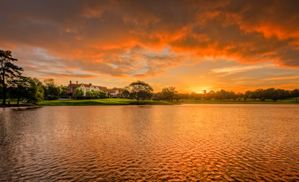 Clubhouse at Dawn, East Lake Golf Club