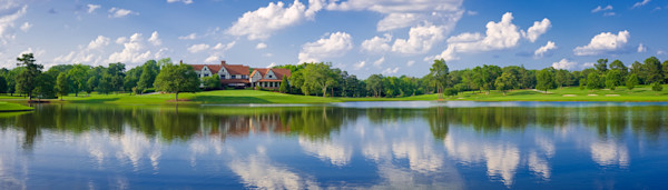East Lake Golf Club's Clubhouse and 17th Hole