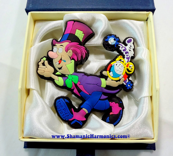 3D Mad Hatter Sticker