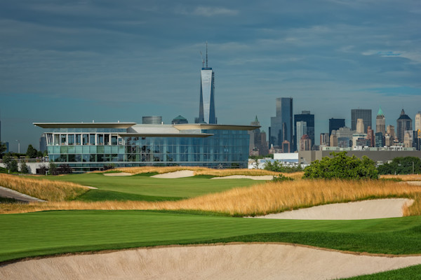 The Clubhouse at Liberty National Golf Club