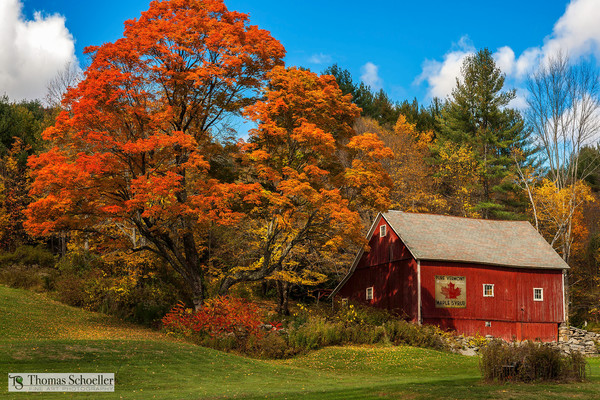 Scenic rural Vermont countryside fine art decor prints/Vintage Americana Red barns and antique signs